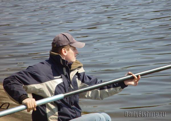 Ловля рыбы штекером