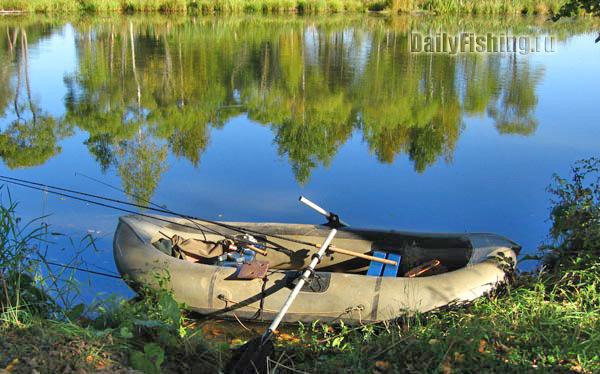 Ловля с надувной лодки