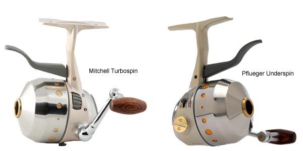 Mitchell Turbospin Pflueger Underspin