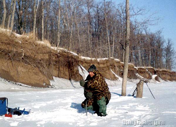 Сергей Хвалев зимой на Урале
