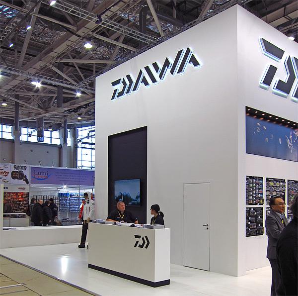 daiwa booth Moscow 2014