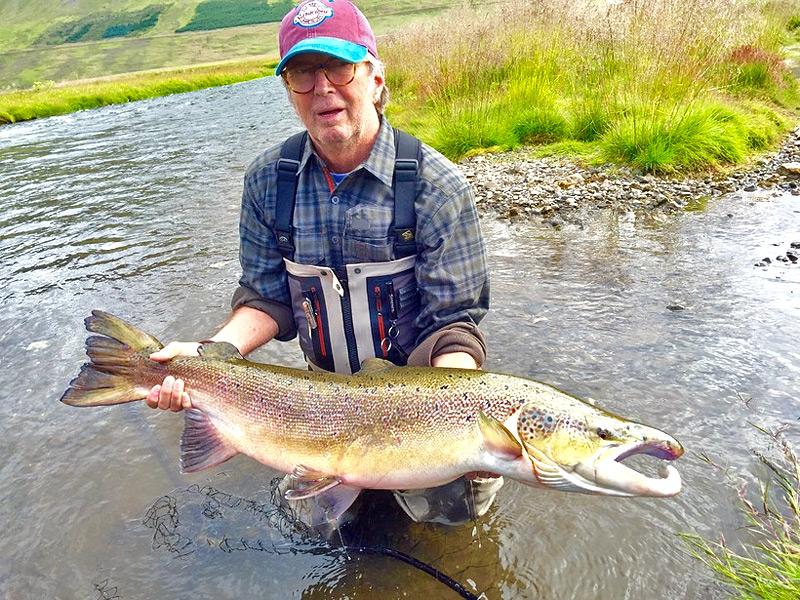 Eric Clapton salmon Iceland