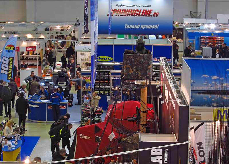 fishing tackle exhibition moscow
