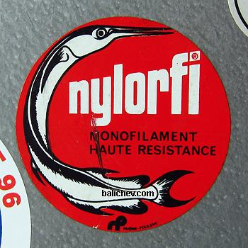 Nylorfi sticker