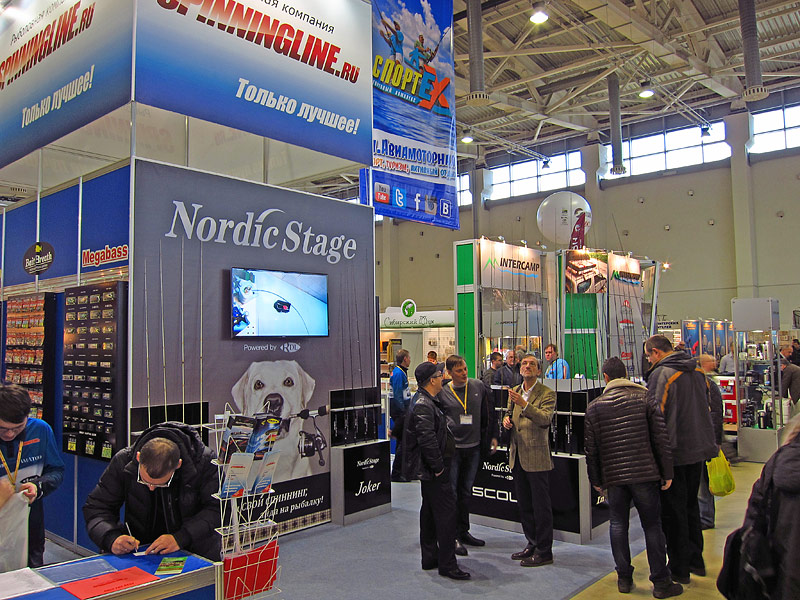 spinningline booth moscow 2014