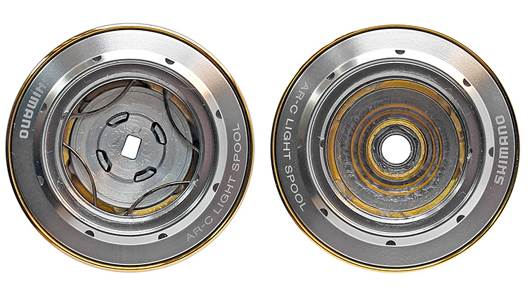 shimano 2010 stella шпуля