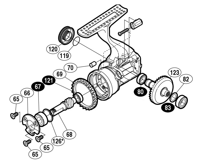 shimano 10 stella gears