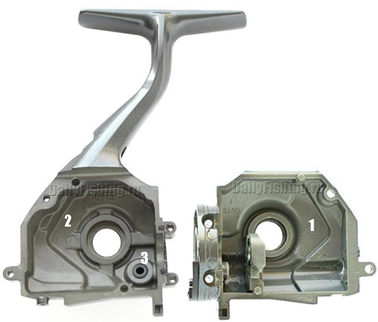 shimano 09 twin power sw body