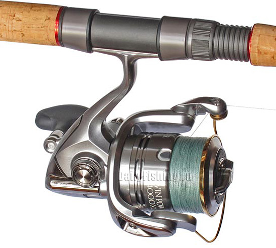 shimano 11 twin power with braid