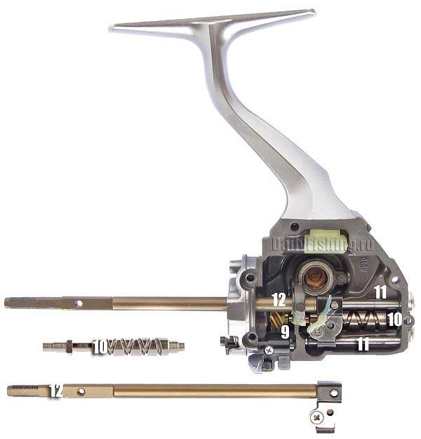 shimano 11 TP ocscillations system