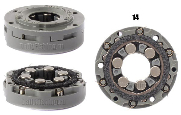 shimano 11 twin power clutch