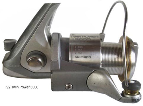 shimano 92 twin power 3000