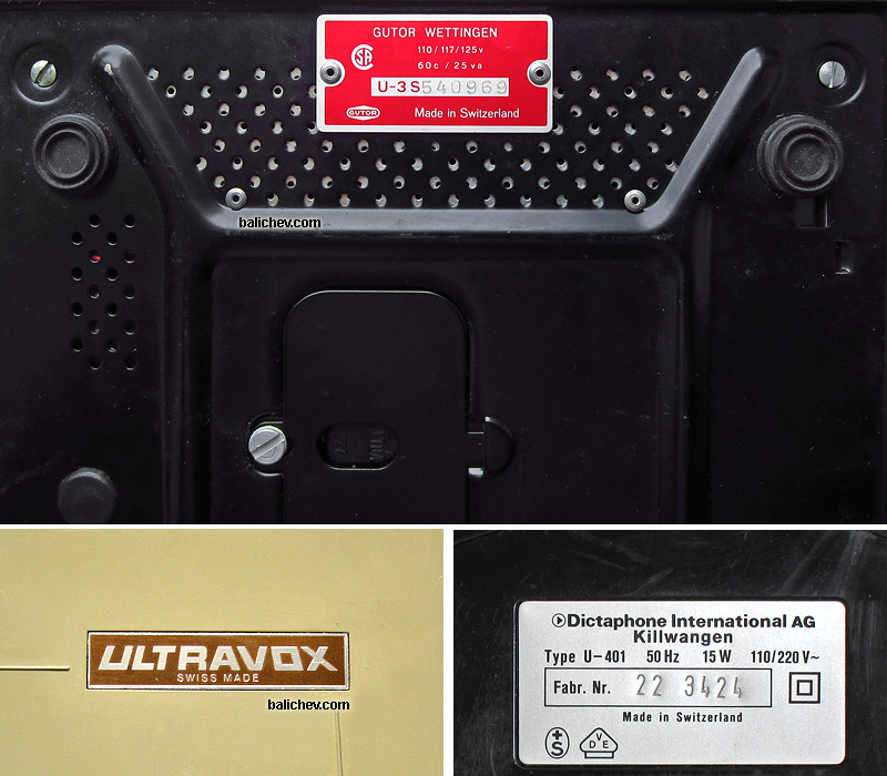 Ultravox by Gutor and Dictaphone