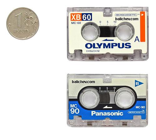 Microcassettes Olympus, Panasonic
