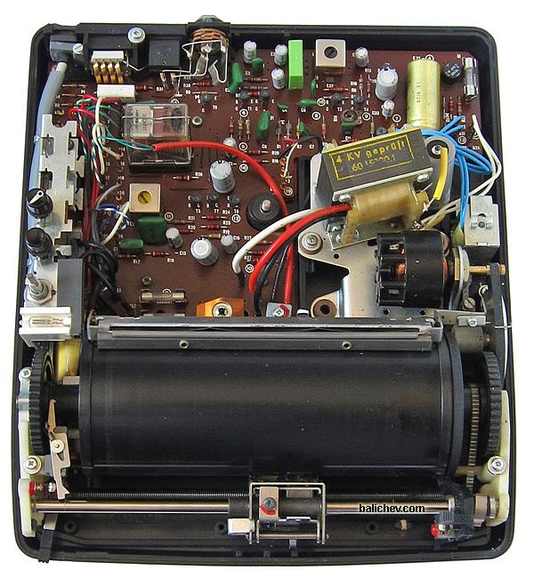 Dictaphone Ultravox U-401 inside