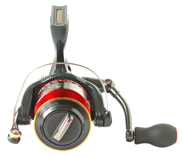 fire blood spinning reel