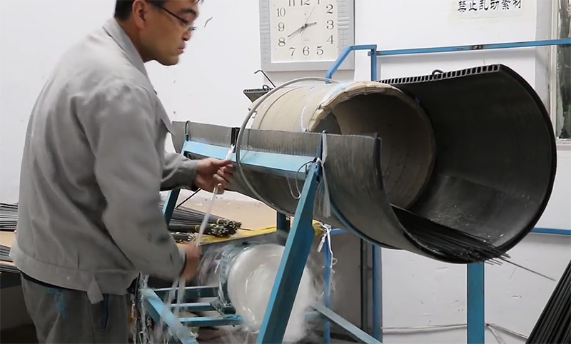 производство удилищ удаление ленты