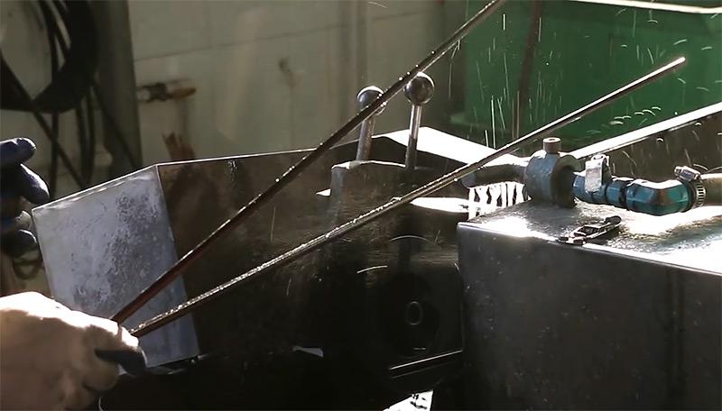 производство удилищ шлифовка хлыстов