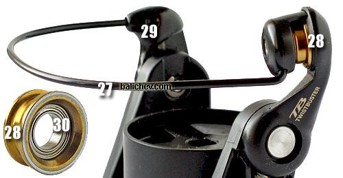 tdsm2553mi bail line roller