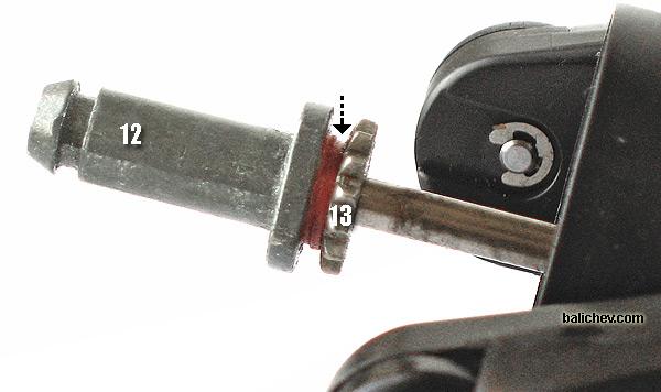 подшпульный узел Daiwa TD-S 2553Mi
