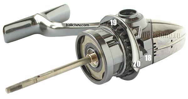 07 stella less spool, rotor & handle