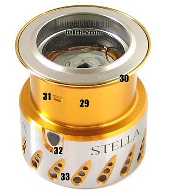 shimano 07 stella spool