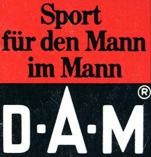 Логотип ДАМ в 60-е годы
