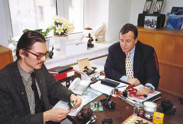Jacques Prallet Moscou 1999
