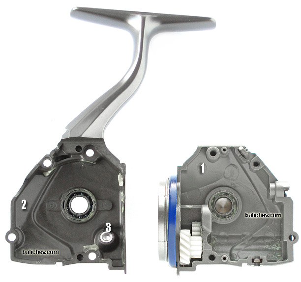 shimano 02 twin power pg body