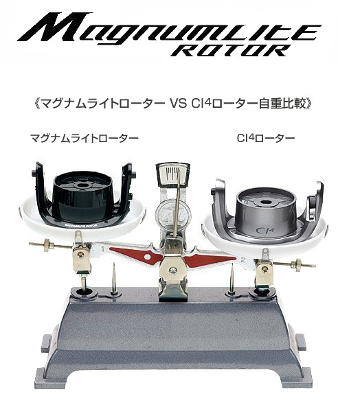 shimano original magnumlite rotor
