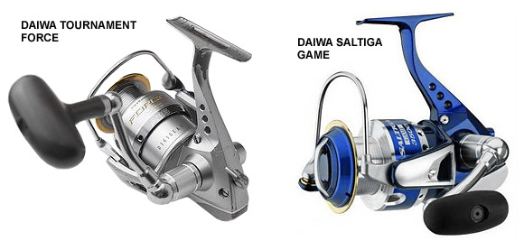 daiwa tournament force vs saltiga game