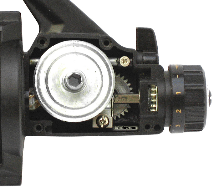 daiwa gs1650 spinning reel gears