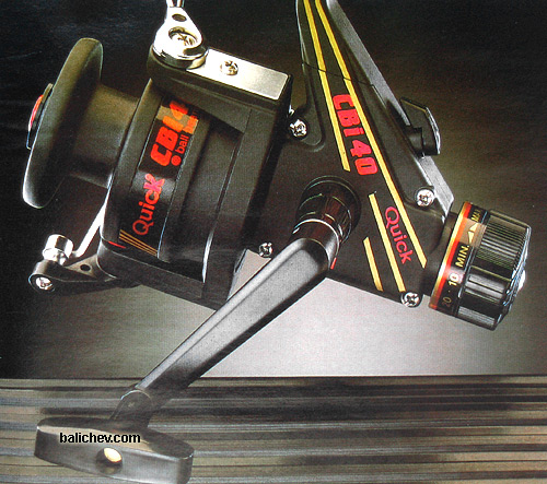 D.A.M. Quick CBi spinning reel