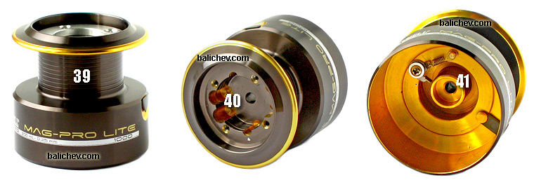 mitchell mag-pro lite spare spool