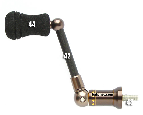 mitchell mag-pro lite handle