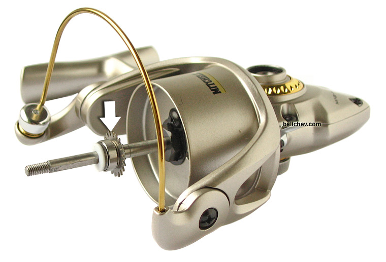 mitchell mag-pro spinning reel