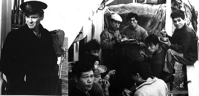 японские рыбаки
