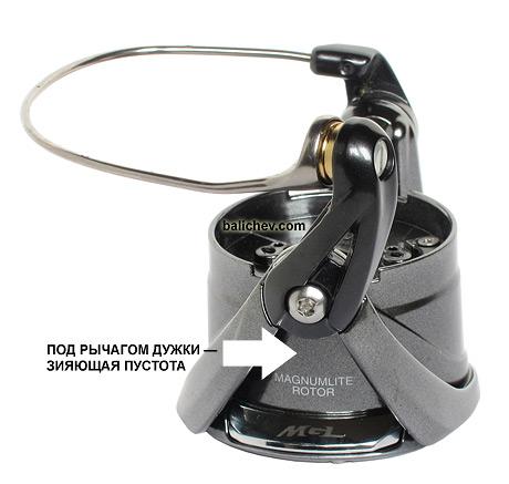 shimano spinning reel rotor magnumlite