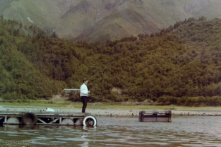 kawaguchiko fishing 1964