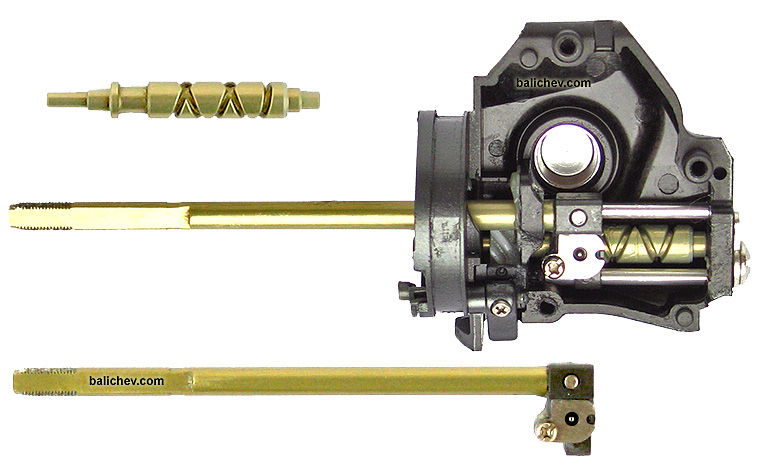 shimano 09 rarenium oscillation mechanism