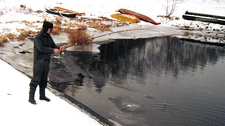 зимняя рыбалка щука