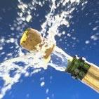 шампанское на льду