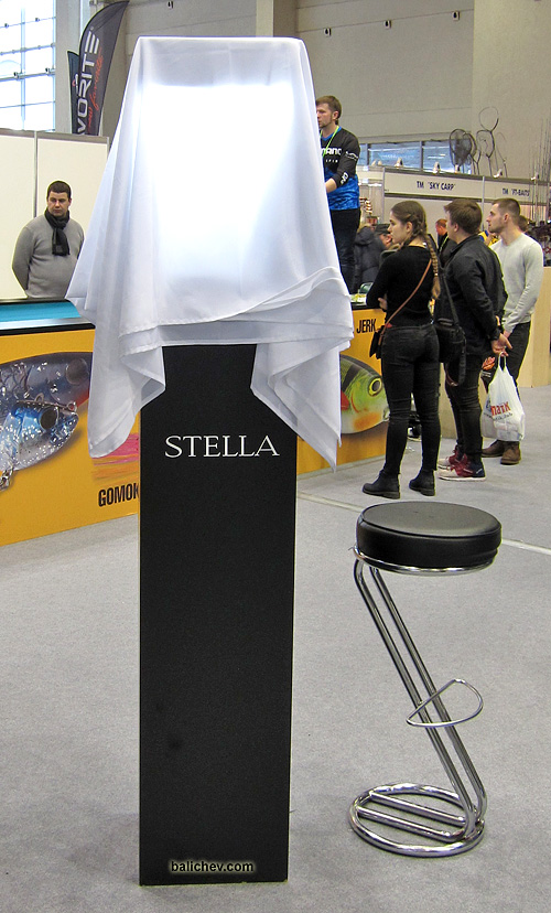 shimano 18 stella на выставке