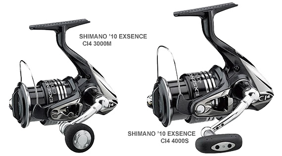 shimano 10 exsence spinning reels