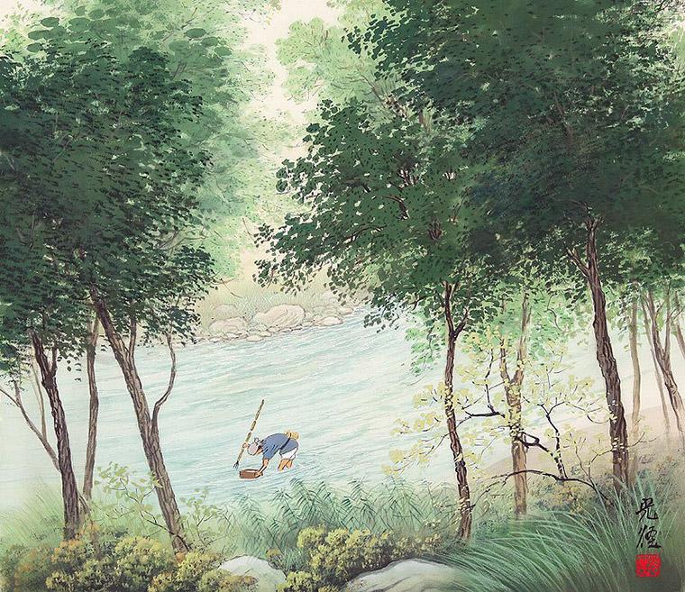 кодзима япония река