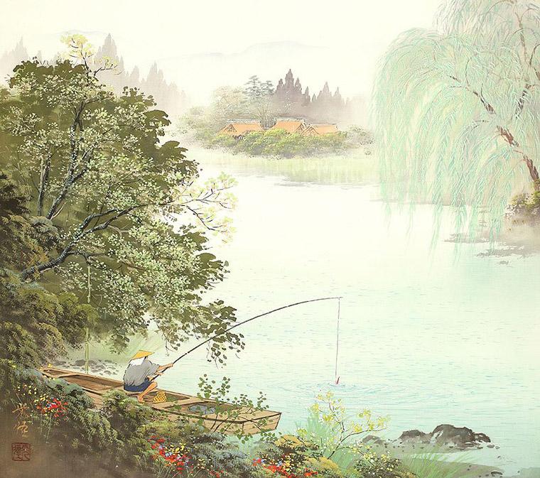 рыболов япония кодзима