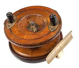 катушка ноттингемская деревянная