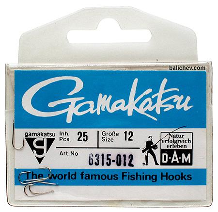 крючки dam gamakatsu 6315