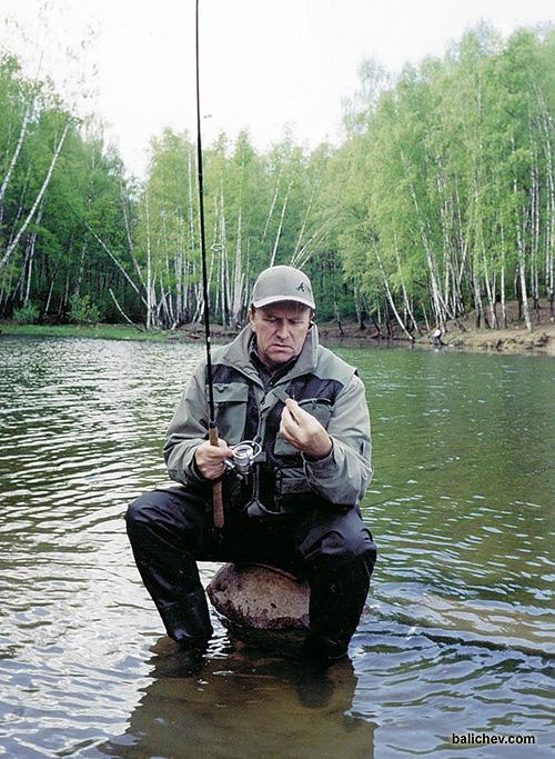 петр михайлович моталов на рыбалке