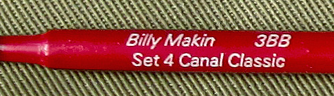 Billy Makin Canal Classic 3BB